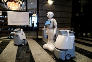 robots-on-hand-to-greet-japanese-coronavirus-patients-in-hotels
