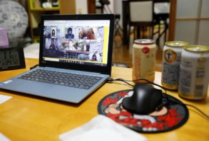 virtual-cheers!-japan's-'nomikai'-goes-online-for-coronavirus-time