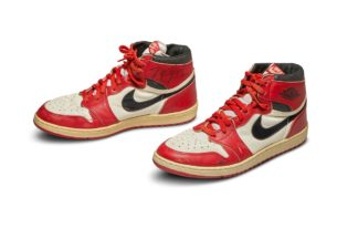 jordan's-first-air-jordan-sneakers-sold-for-record-$560,000-at-sotheby's
