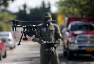 colombian-police-use-drones-to-detect-high-body-temperatures