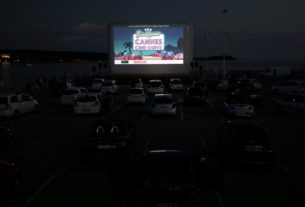 popcorn,-palm-trees-and-face-masks:-cannes-rolls-out-drive-in-cinema