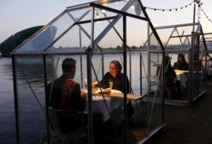 drive-in-cinemas,-raves-and-dining-behind-plastic:-the-new-going-out