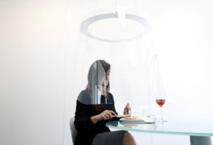 your-bubble-is-ready:-plastic-pods-offer-solution-for-covid-dining