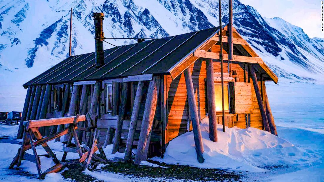 the-arctic-explorers-locked-down-in-a-tiny-hut-in-norway's-svalbard-archipelago