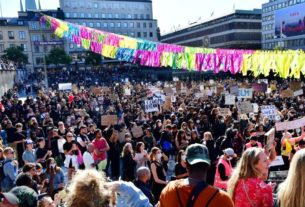 thousands-defy-pandemic-ban-to-join-stockholm-protest-over-us.-police-violence