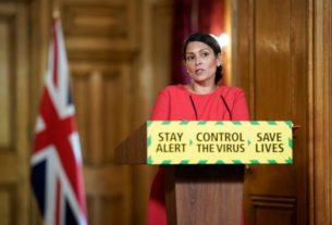 british-airways-does-not-attend-meeting-with-britain's-interior-minister-priti-patel