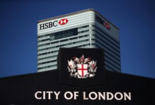 hsbc-warns-it-could-face-reprisals-in-china-if-uk-bans-huawei-equipment:-telegraph