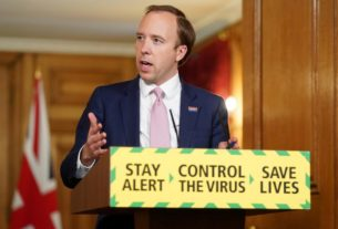 anti-racism-protests-undoubtedly-increase-risk-of-coronavirus-spread:-uk-health-minister
