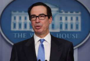 us.-treasury-chief-says-considering-more-direct-payments-in-next-coronavirus-aid-bill
