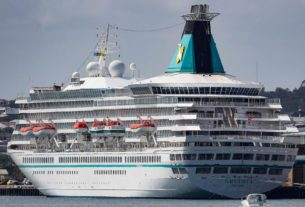 after-months-at-sea,-the-final-cruise-ship-carrying-passengers-makes-it-home