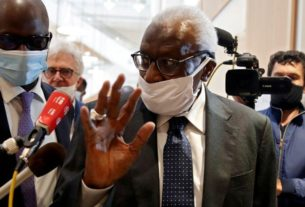 diack-tells-court-he-slowed-handling-of-russian-doping-cases-to-save-sponsorship
