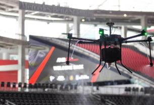 the-atlanta-falcons-will-use-'disinfecting-drones'-to-sanitize-the-team's-stadium-when-it-welcomes-back-fans-this-month