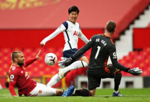 premier-league:-tottenham-crushes-10-man-manchester-united-6-1-at-old-trafford-(video)