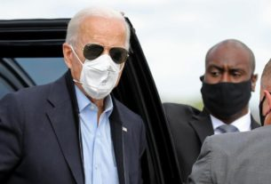 trump-campaign-adviser-claims-biden's-mask-is-a-'prop'-as-president-hospitalized-with-covid-19