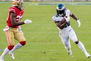the-surprising-reason-miles-sanders-wasn't-part-of-eagles'-final-drive