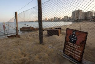 north-cyprus-reopens-'ghost-town'-beach-resort,-sparking-international-criticism