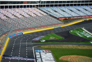nascar-at-charlotte-cup-playoff-race-live-updates:-teams-prepare-for-a-damp-track