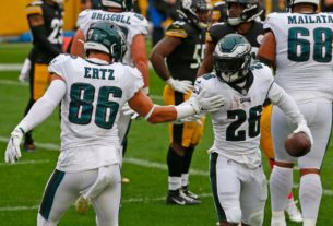 eagles-lose-miles-sanders-this-week,-zach-ertz-for-3-4-weeks