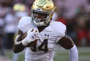 running-back-jahmir-smith-no-longer-with-notre-dame-football-team