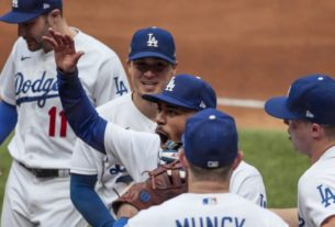 world-series-rosters:-dodgers-load-up-with-15-pitchers-and-13-position-players
