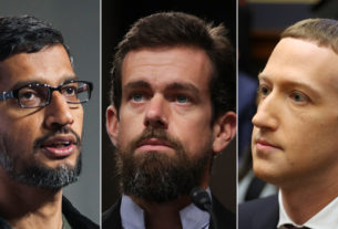 ceos-of-google,-twitter-and-facebook-grilled-in-senate-hearing