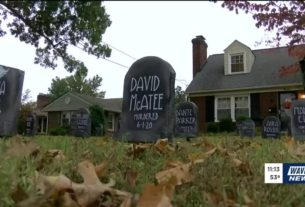 halloween-decorations-include-blm-cemetery