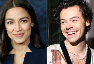 alexandria-ocasio-cortez-praises-harry-styles-for-wearing-a-dress-on-the-cover-of-vogue