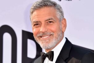 george-clooney-cuts-his-own-hair-with-a-device-attached-to-a-vacuum-cleaner
