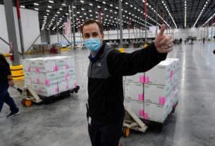 first-shipment-of-moderna-covid-19-vaccine-leaves-distribution-facility-in-mississippi
