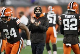 the-latest:-2nd-browns-coach-tests-positive-for-virus