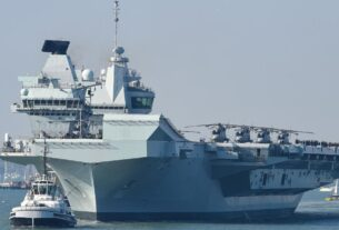 uk-says-its-aircraft-carrier-strike-group-is-ready-to-deploy.-china's-already-watching