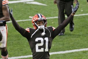 the-latest:-browns-coach-on-track-to-return-thursday