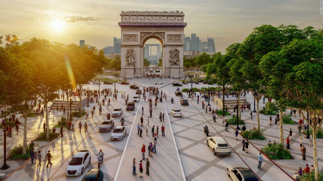 champs-elysees-set-for-green-transformation