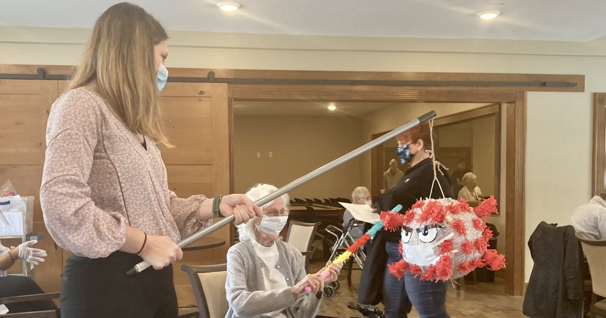 nursing-home-beats-covid-with-pinata-party