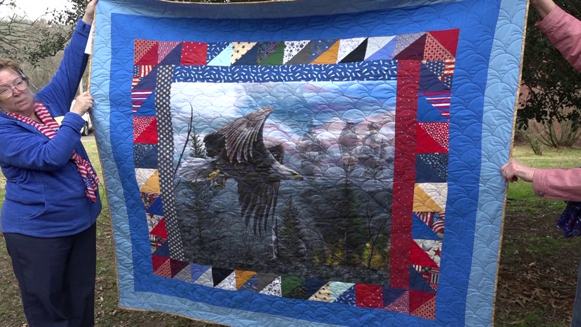 wwii-veteran-honored-with-a-quilt-of-valor