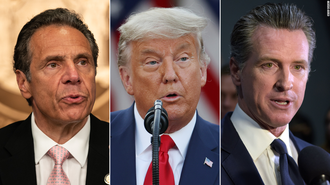 analysis:-how-early-pandemic-praise-for-cuomo,-newsom-and-trump-disappeared