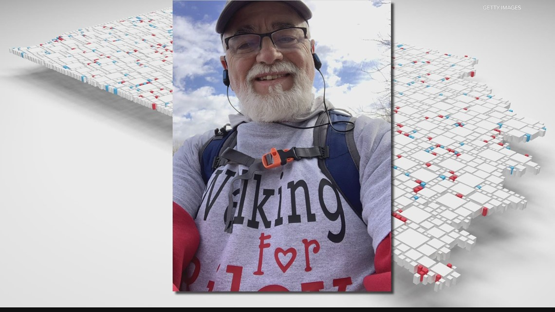 man-hiking-to-raise-money-in-honor-of-his-father