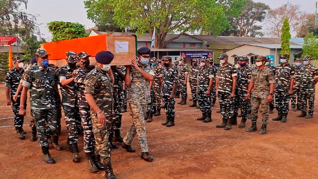 at-least-22-indian-security-personnel-killed-in-clash-with-maoist-insurgents