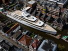 huge-superyacht-squeezes-down-narrow-dutch-canals