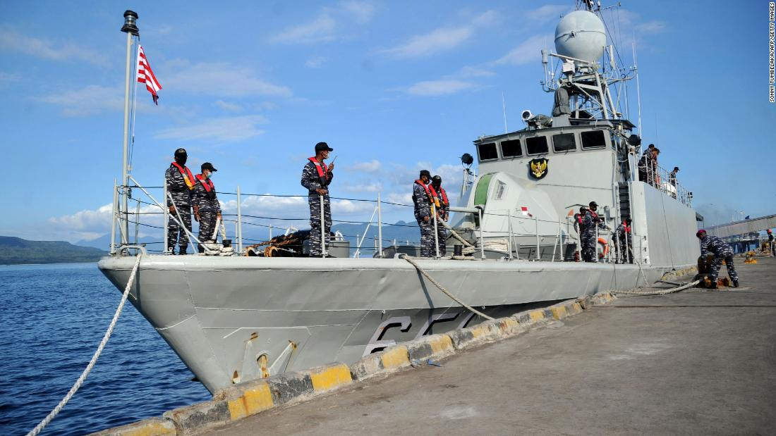 missing-indonesian-submarine-likely-cracked-and-sunk,-navy-says-after-debris-found