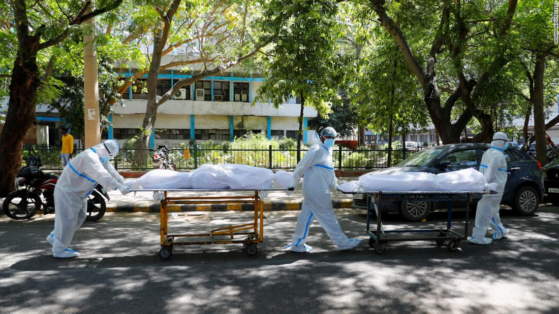 india-sets-covid-19-infection-record-for-fourth-straight-day-with-hospitals-desperate-for-oxygen