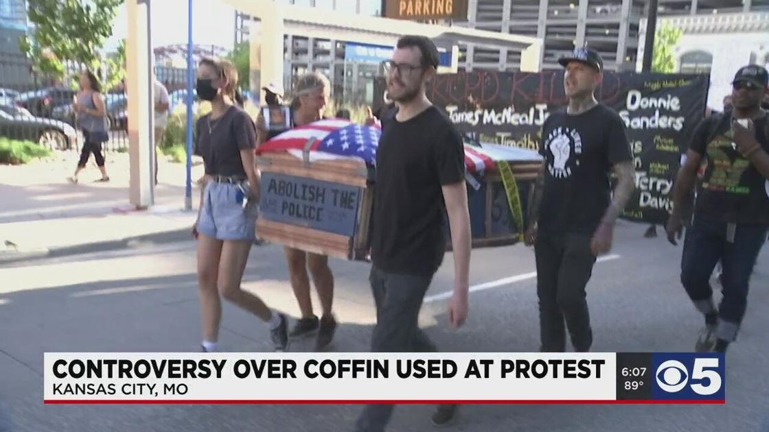 coffin-used-in-recent-protest-drawing-criticism
