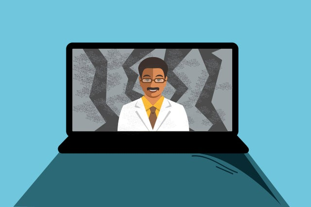 the-pandemic-made-telemedicine-an-instant-hit-patients-and-providers-feel-the-growing-pains.
