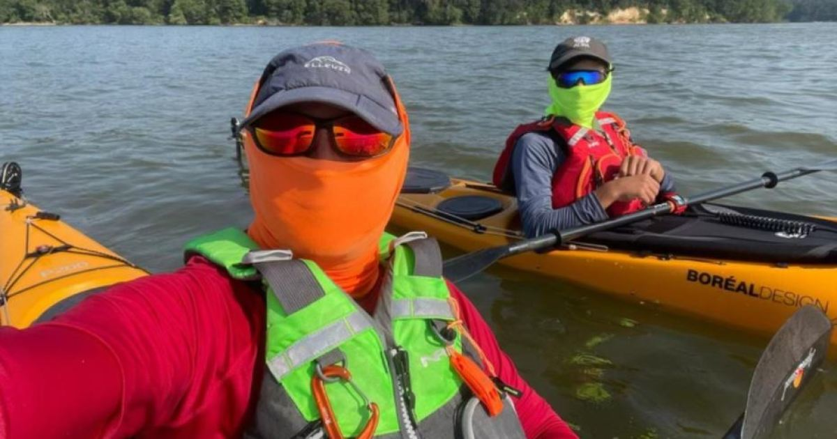 father-son-duo-kayak-for-families-in-need