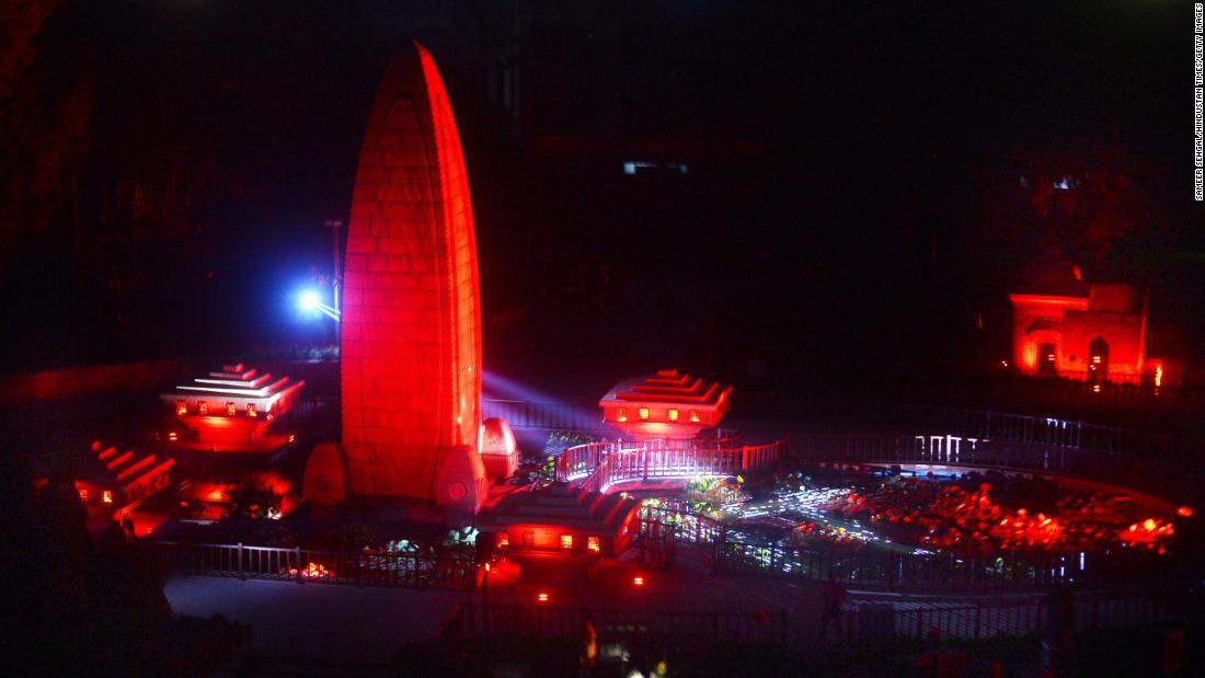 india-massacre-memorial's-lights-and-lasers-'makeover'-attracts-controversy